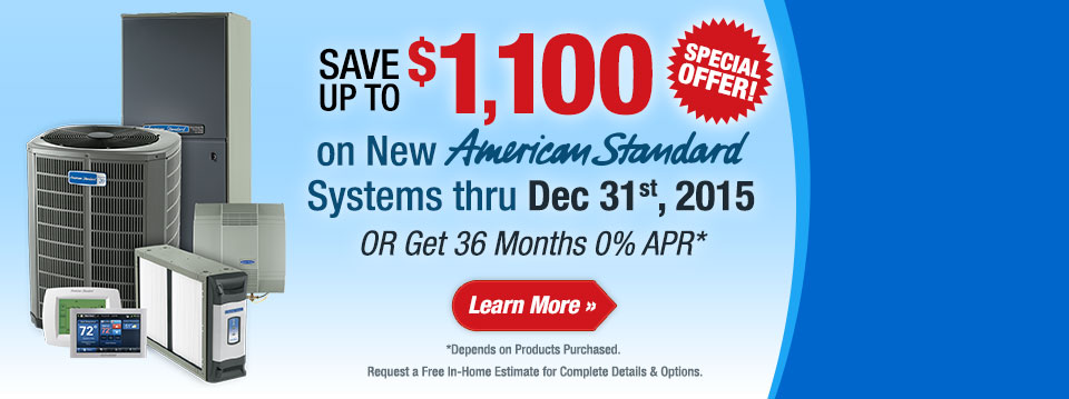 American Standard Special Offer