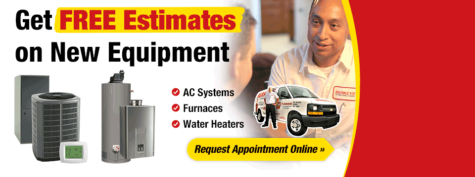 Get FREE Estimates on New Equipment