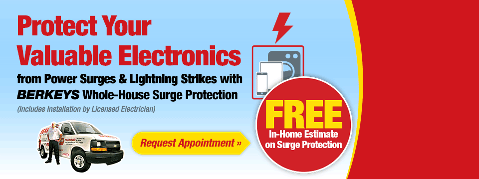 FREE Estimate on Whole-House Surge Protection