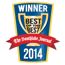 Berkeys is the winner of the Southlake Journal 2014 Best-of-the-best Award