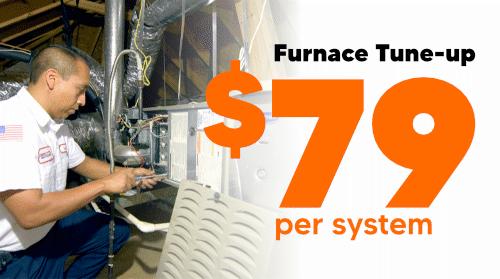Furnace Maintenance - $79 per system