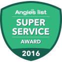 BERKEYS Air Conditioning, Plumbing and Electrical Earns Esteemed 2016 Angie's List Super Service Award