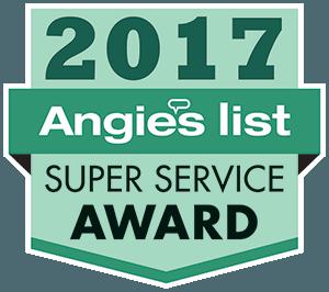 Angies List Super Service Award