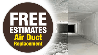 FREE Estimates on Air Duct Replacement