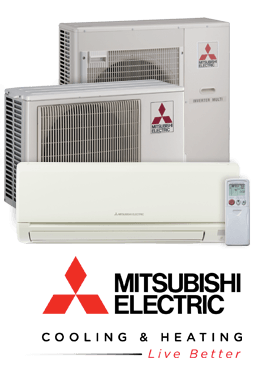 Great Mitsubishi Electric Cooling And Heating Mini Split Ductless Air Conditioners
