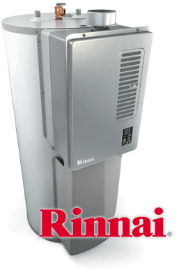 get twice the hot water of a typical tank - Rinnai Water Heater