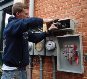 DIY electrical installation