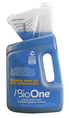 BioOne 64floz eco friendly drain and septic treatment