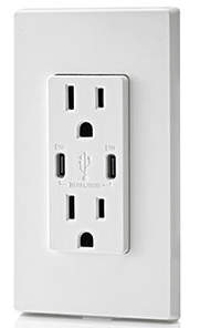 Leviton In-Wall USB Charger