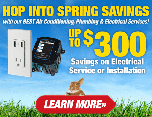 Hop Into Spring Savings - Water Heaters