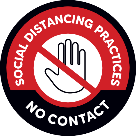 No Contact, Social Distancing Practices