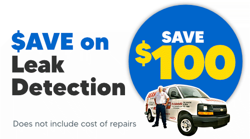 $100 Off Leak Detection Service