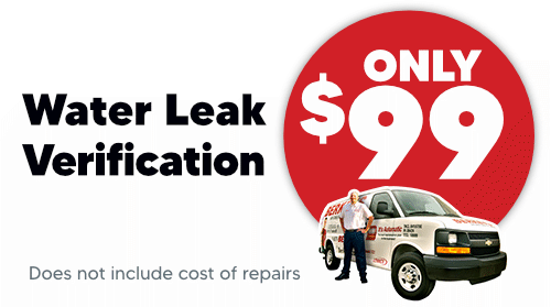 Water Leak Verification Only $99