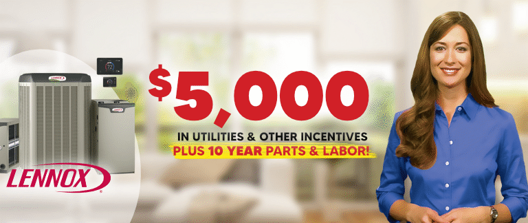Save up to $5,000 on your New AC System when you purchase from Berkeys