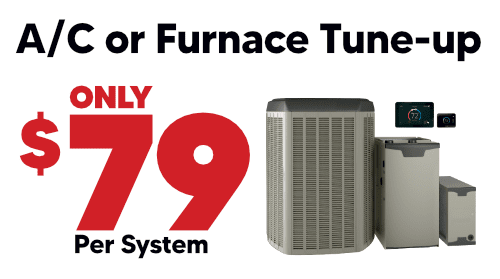 $79 AC or Furnace Tune-up